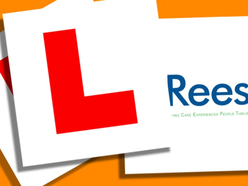 Get free driving lessons thanks to Rees Foundation!