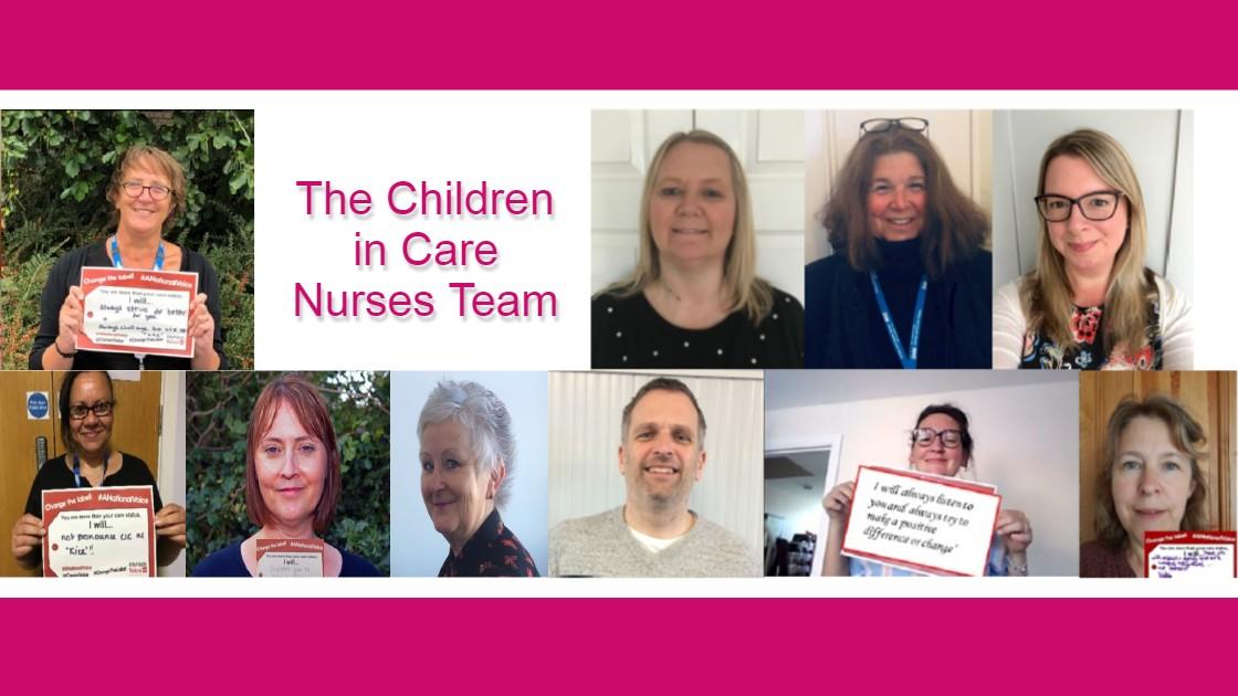 The Children in Care Nurses Team
