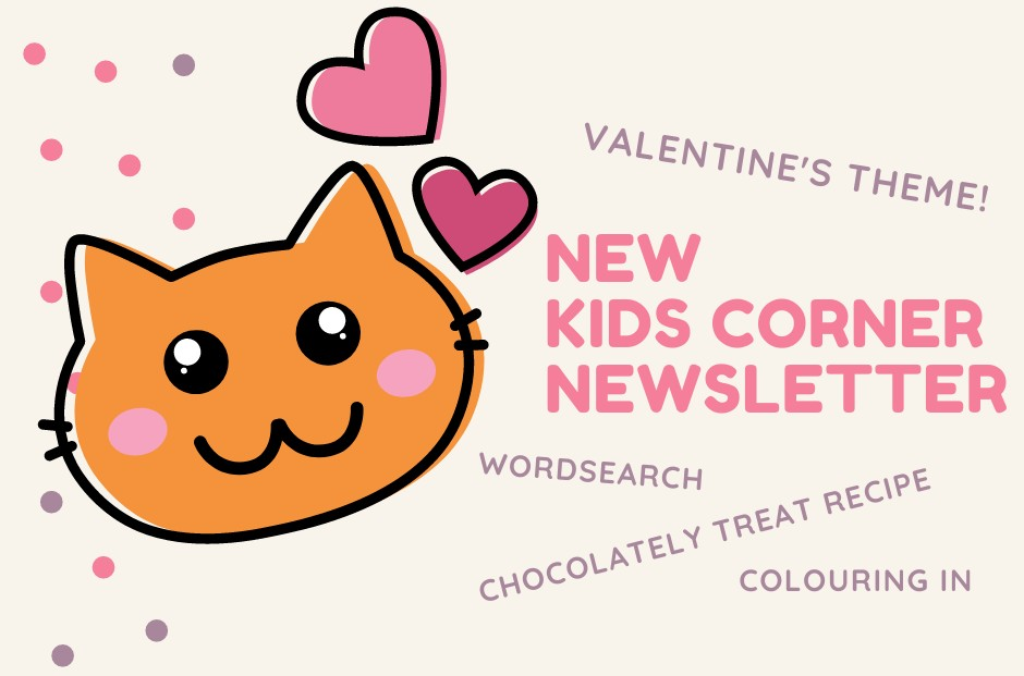New edition of the Kids Corner newsletter out now
