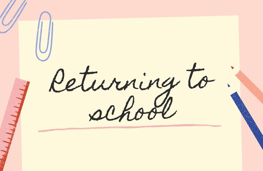 Returning to school – March 2021