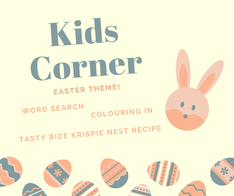 Kids Corner – Easter edition