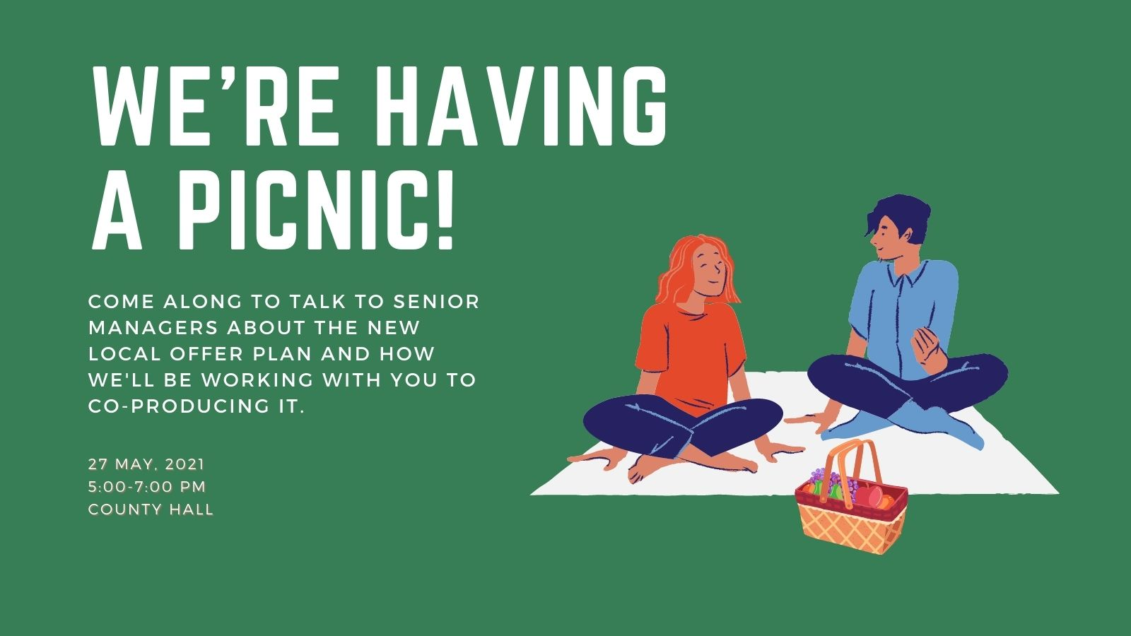 Picnic to talk about the new local offer